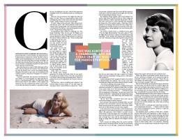 Sylvia Plath mock-up